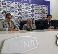 Ecuador Santacruz es el líder del Tribunal de Elecciones de Emelec. Foto: Tomada de la cuenta Twitter @Jrnochi