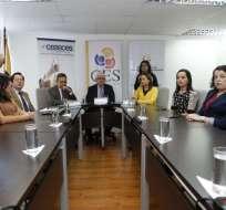 """QUITO, Ecuador.- """"El tema jurídico es absolutamente claro: no hay regreso, no hay marcha atrás"""", dijo el titular del Ceaaces sobre reapertura de universidades extintas. Fotos: API."""