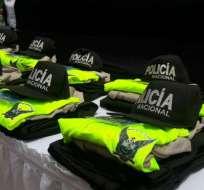 QUITO, Ecuador.- Los sospechosos cobraban montos que iban desde 1.500 hasta 13.000 dólares por ingresar a la Policía. Foto: Ministerio del Interior