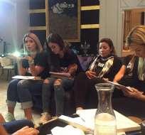 María Fernanda Ríos, Samantha Grey, Kristel Chuchuca y Janan Nahid son quienes disputan por el papel de la hechicera en el casting final. Foto: instagram María Fernanda Ríos