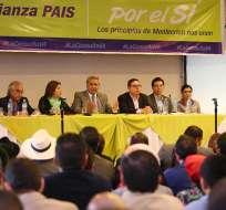 QUITO, Ecuador.- El presidente de la República aseguró que el movimiento oficialista no se va a dividir. Foto: Flickr Presidencia.
