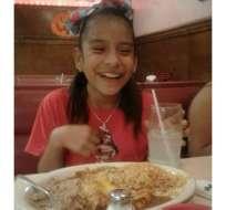 Rosa María tiene 10 años y desde que tenía tres meses de edad fue llevada a Estados Unidos. (Foto: Familia Hernández)