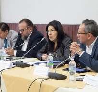 QUITO, Ecuador.- Silvia Salgado dijo que se pedirán más detalles a los exfuncionarios sobre 13 casos puntuales. Foto: Flickr Asamblea.