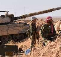 Las fuerzas armadas de ese país trata ganar terreno en la ciudad de Deir Ezzor. Foto: Tomado de t13.cl.