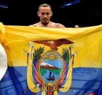 El ecuatoriano Marlon 'Chito' Vera cayó en el UFC de Sao Paulo por decisión unánime.