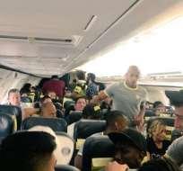 La delegación 'torera' viajó el domingo a Brasil con escala en Bolivia, donde pernoctó por tema logístico.