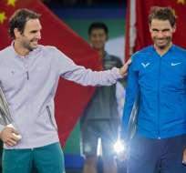 Roger Federer no jugará en Paris y Nadal solo deberá ganar un juego para cerrar el año como número 1.