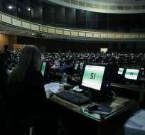 Legisladores oficialistas y de oposición lo niegan y critican declaración. Foto: Flickr Asamblea