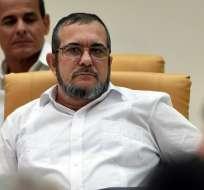 FARC lanza candidatura presidencial de su exjefe, 'Timochenko'. Foto: AP