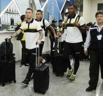 El plantel de Barcelona ya se encuentra en Guayaquil y ahora piensa en el torneo local.