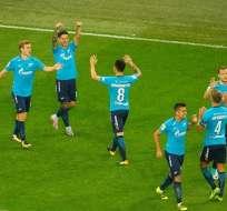 El ecuatoriano Cristhian Noboa fue titular en el empate del Zénit en Noruega.
