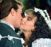 """La cantante y el actor vivieron una anécdota bastante especial cuando grababan """"María Mercedes""""."""