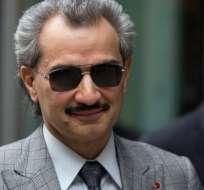 El príncipe Alwaleed bin Talal fue uno de 11 príncipes sauditas arrestados.