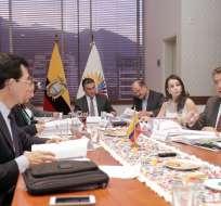 Integrantes del CAL durante una reunión en la Asamblea. Foto: Flickr Asamblea Nacional