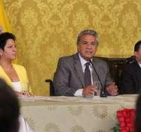 Presidente indicó que había quienes esperaban que proteja a vinculados en corrupción. Foto: Twitter Presidencia