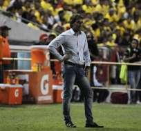 Guillermo Almada se quejó del arbitraje en el Clásico del Astillero, que terminó empatado sin goles.