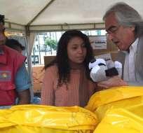 Gustavo Baroja es el prefecto de Pichincha y presidente provincial de AP, quien apoya a Moreno. Foto: @PichinchaGob