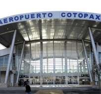 En la repotenciación del aeropuerto de Cotopaxi, el Estado invirtió 42 millones de dólares. Foto: Ecuavisa