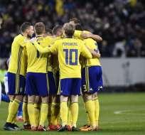 La selección de Suecia venció 1-0 en condición de local al combinado italiano.