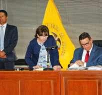Según Juez Jurado, hay presunciones ciertas de intervención de Glas en el delito. Foto: API