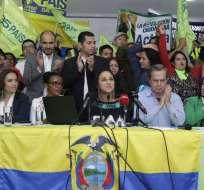 Entre los sancionados se encuentran Ricardo Patiño, la secretaria ejecutiva de AP Gabriela Rivadeneira y la asambleísta Doris Soliz.  Foto: Ecuavisa