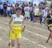 La provincia de la Amazonía sacó ventaja en las pruebas de atletismo. Foto: API