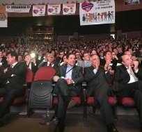 """Militantes de """"Democracía Sí"""",  se reunieron en el Teatro Nacional de la Casa de la Cultura, para participar en la Tercera Convención de esa organización. Foto: Facebook Democracia Sí"""