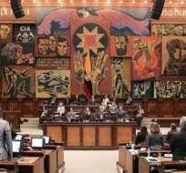 Ante el llamado a juicio penal de Jorge Glas se mantienen las diferencias entremorenistas y correistas dentro de Alianza País. Foto: Ecuavisa