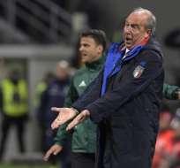 Giampiero Ventura no quiso dar un paso al costado tras el fracaso con Italia. Foto: AFP