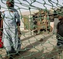 """La OIM alertó que varios refugiados son vendidos como esclavos en """"mercados"""" públicos. Foto: Captura de Video."""