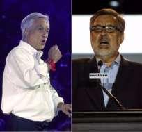 El domingo los chilenos elegirán presidente y renovarán el Parlamento. Foto: Collage / AFP