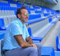 El presidente de Emelec celebró como un hincha más la victoria de su equipo sobre Barcelona.