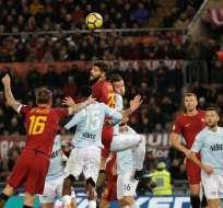 La Roma derrotó a la Lazio y se quedó con el clásico italiano en la Serie A.