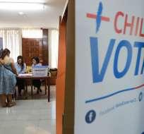 Chilenos sufragaron el 19 de noviembre para elegir presidente y renovar el congreso. Foto: AFP.