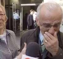 BARCELONA, España.- Óscar Gónzalez Parra comentó que sus últimas elecciones fueron en 1970. Foto: Captura de Video.