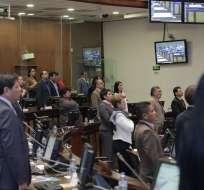 La sesión del Legislativo se instaló con la asistencia de 105 legisladores. Foto: Flickr Asamblea