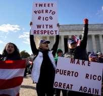 Miles de puertorriqueños exigen más ayuda para la isla           Foto:Reuters