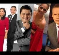 Premios ITV premió a lo mejor de la televisión ecuatoriana.