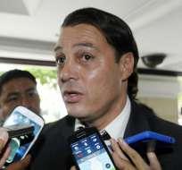 """Carlos Alfaro Moreno toma como un """"halago"""" el insulto proferido por Rodrigo Paz."""