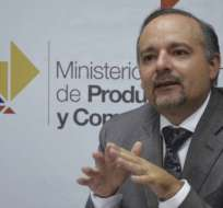 Richard Espinosa impugnará su destitución, confirmada por Contraloría. Foto: IESS