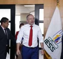 """""""Que nos diga la Contralaría qué artículo de la Constitución se ha incumplido"""", dijo Espinosa en rueda de prensa. Foto: API"""