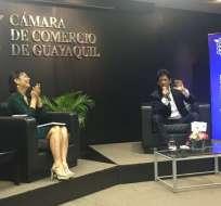 El lanzamiento se dio en teatro Las Cámaras, norte de Guayaquil. Foto: @Checheperez