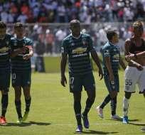 El delantero de Liga de Quito era duda por una contractura muscular. Foto: API