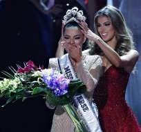 La Miss Universo 2017 es la sudafricana Demi-Leigh Nel-Peters. Foto: AP