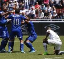 Emelec se tomó el Rodrigo Paz Delgado y venció a Liga de Quito, que se había adelantado en el marcador.