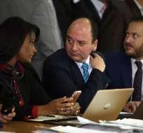 Pedido se planteará luego de que Alexis Mera nombró a Correa en audiencia de juicio. Foto: API
