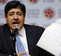 Luis Bedoya dio su testimonio este lunes 27 de noviembre. Foto: Telemundo.com