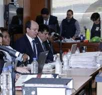 El domingo 26 de noviembre se desarrolló el tercer día de audiencia de juicio. Foto: API