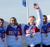 El equipo ruso de bobsleigh fue despojado de sus preseas. Foto: Tomada de rt.com