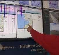 Experto del Instituto Geofísico aclara las dudas sobre temblores registrados en la ciudad. Foto: Captura de Video.